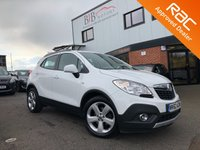 USED 2013 62 VAUXHALL MOKKA 1.7 EXCLUSIV CDTI 4X4 S/S 5d 128 BHP ALLOY WHEELS | FOLDING MIRRORS | FRONT AND REAR PARKING SENSORS | AUTOMATIC LIGHTS | AUTOMATIC WIPERS | ELECTRIC WINDOWS | DUAL CLIMATE CONTROL | BLUETOOTH | DAB