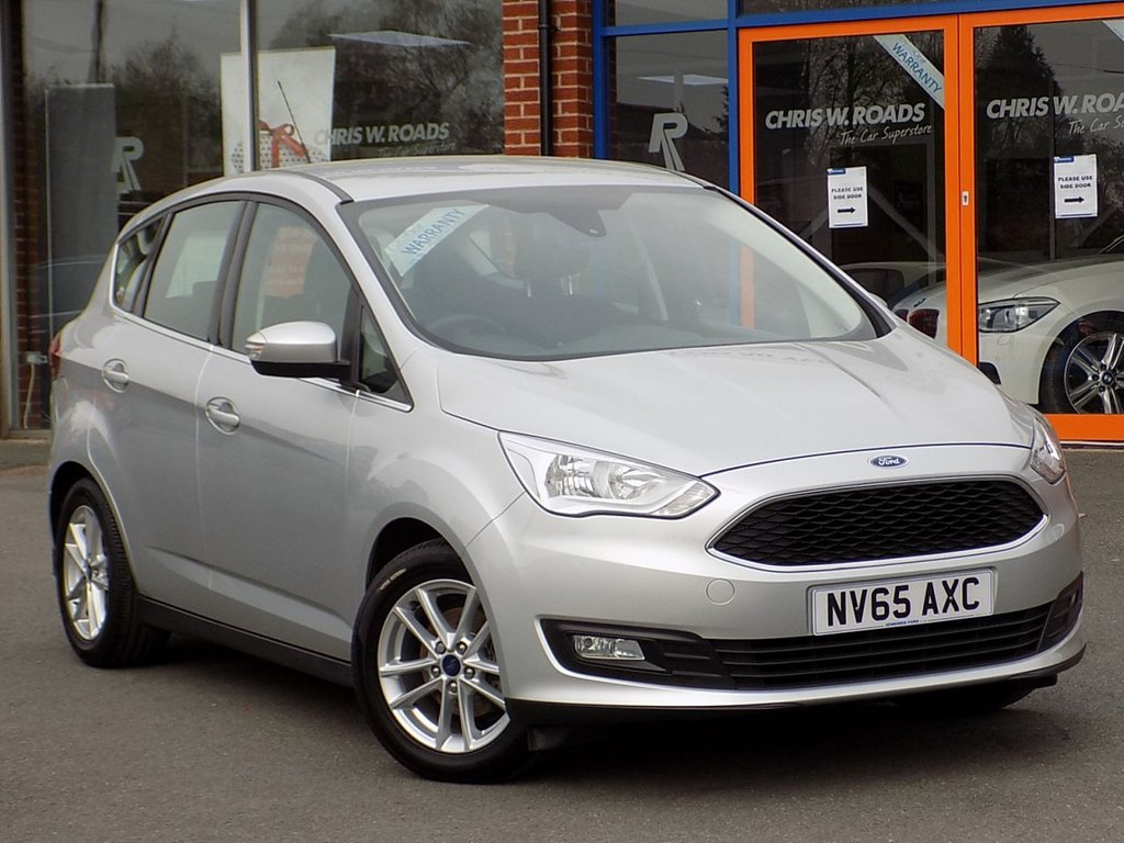 USED 2015 65 FORD C-MAX 1.5 TDCi Zetec 5dr ** Bluetooth + Cruise + DAB **