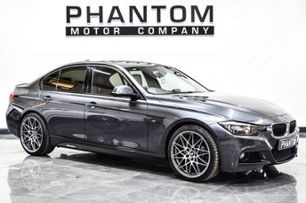 2013 BMW 3 SERIES 2.0 320D M SPORT 4d AUTO 181 BHP £14490.00