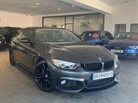USED 2015 65 BMW 4 SERIES 3.0 430D M SPORT 2d AUTO 255 BHP M PERFORMANCE STYLING+PRO NAV