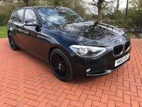 2013 BMW 1 SERIES 1.6 116D EFFICIENTDYNAMICS 5d 114 BHP £8990.00