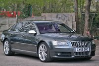 USED 2006 56 AUDI S8 5.2 S8 FSI QUATTRO V10 4d AUTO 450 BHP Huge Spec PX To Clear