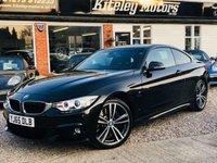 USED 2016 65 BMW 4 SERIES 430D M SPORT AUTO PROFESSIONAL MEDIA