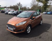 USED 2016 66 FORD FIESTA 1.0 ZETEC ECOBOOST (100PS) THIS VEHICLE IS AT SITE 1 - TO VIEW CALL US ON 01903 892224