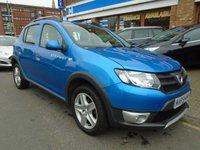 USED 2016 16 DACIA SANDERO 0.9 STEPWAY AMBIANCE TCE 5d 90 BHP ULEZ EXEMPT ONLY 1 OWNER!