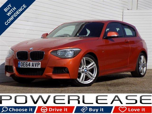 USED 2014 64 BMW 1 SERIES 2.0 116D M SPORT 3d 114 BHP DAB TUNER USB BLUETOOTH FSH