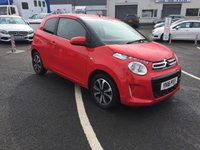 2016 CITROEN C1 1.0 FLAIR S/S 3d 68 BHP £6495.00