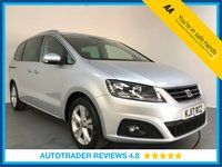 USED 2017 17 SEAT ALHAMBRA 2.0 TDI SE 5d AUTO 150 BHP FULL HISTORY - 1 OWNER - 7 SEATS - EURO 6 - PARKING SENSORS - BLUETOOTH - AIR CON - CRUISE