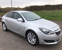 USED 2015 65 VAUXHALL INSIGNIA 2.0 SRI NAV CDTI ECOFLEX S/S 5d 138 BHP 6 MONTHS PARTS+ LABOUR WARRANTY+AA COVER