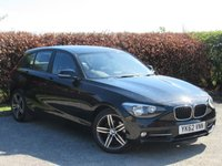 USED 2012 62 BMW 1 SERIES 2.0 118D SPORT 5d * MOT UNTIL JANUARY 2020 * 12 MONTHS AA BREAKDOWN COVER * 128 POINT AA INSPECTED *