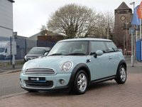 2011 MINI HATCH ONE 1.6 ONE 3d £6495.00