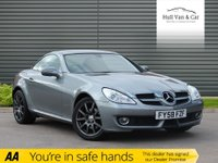 USED 2008 58 MERCEDES-BENZ SLK 1.8 SLK200 KOMPRESSOR 2d 184 BHP SAT NAV, BLUETOOTH,RED LEATHER