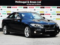 USED 2014 64 BMW 2 SERIES 2.0 220d M Sport (s/s) 2dr 0% FINANCE AVAILABLE ON THIS CAR