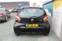 USED 2009 09 TOYOTA AYGO 1.0 BLACK VVT-I 3d 67 BHP PETROL BLACK EXCELLENT CONDITION