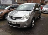 USED 2010 10 NISSAN NOTE 1.4 N-TEC 5d 87 BHP ONE LADY OWNER SINCE 2011