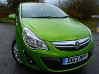 USED 2013 13 VAUXHALL CORSA 1.4 SE 5d 98 BHP ** HEATED SEATS AND STEERING WHEEL, LOW TAX, LOW INSURANCE, GREAT FIRST CAR**FANTASTIC CONDITION**