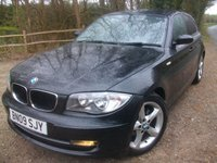 USED 2009 09 BMW 1 SERIES 2.0 118D EDITION ES 5d 141 BHP