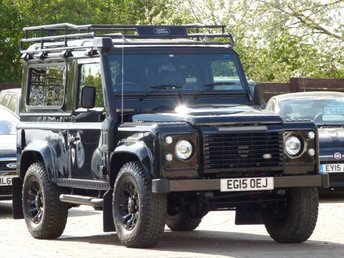 2015 LAND ROVER DEFENDER 2.2 TD XS STATION WAGON 3d 122 BHP £32495.00