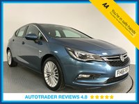 USED 2017 66 VAUXHALL ASTRA 1.6 ELITE NAV CDTI 5d AUTO 134 BHP 1 OWNER - FULL HISTORY - EURO 6 - SAT NAV - LEATHER - BLUETOOTH - AIR CON - DAB - CRUISE