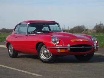 1970 JAGUAR E-TYPE 4.2 2+2 2d  £39990.00