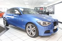 2014 BMW 1 SERIES 3.0 M135I AUTO 316 BHP £16950.00