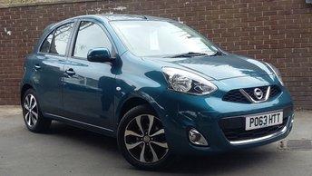 2013 NISSAN MICRA 1.2 TEKNA DIG-S 5d AUTO 97 BHP £6989.00