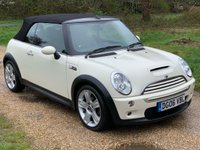 USED 2006 06 MINI CONVERTIBLE 1.6 COOPER S 2d 168 BHP Alloy Wheels, Low Mileage, A/C