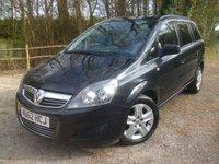 2012 VAUXHALL ZAFIRA 1.8 EXCLUSIV 5d 138 BHP £6950.00