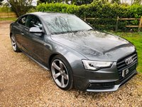 USED 2014 63 AUDI A5 1.8 TFSI BLACK EDITION 2d 168 BHP