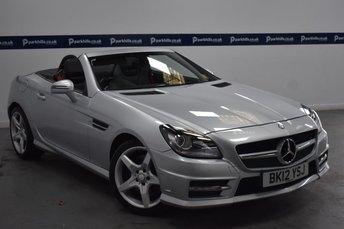 2012 MERCEDES-BENZ SLK 2.1 SLK250 CDI BLUEEFFICIENCY AMG SPORT 2d AUTO 205 BHP £11370.00