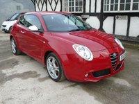 2012 ALFA ROMEO MITO 1.4 TB MULTIAIR DISTINCTIVE 3d 135 BHP £4795.00