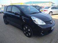 USED 2013 62 NISSAN NOTE 1.6 N-TEC PLUS 5d AUTO 110 BHP