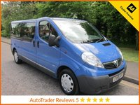 USED 2009 59 VAUXHALL VIVARO 2.0 COMBI LWB 5d 114 BHP Great Value Low mileage Long Wheelbase Vauxhall Vivaro Nine Seat Minibus  with Service History.