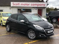 2016 PEUGEOT 208 1.2 Allure 5 door - Pan Roof £6699.00