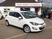 USED 2013 13 HYUNDAI I20 1.4 Active 5 door Automatic