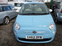 USED 2012 62 FIAT 500 1.2 COLOUR THERAPY 3d 69 BHP