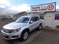USED 2012 12 VOLKSWAGEN TIGUAN 2.0 SE TDI BLUEMOTION TECHNOLOGY 4MOTION DSG 5 DOOR AUTO 138 BHP £43 PER WEEK, NO DEPOSIT - SEE FINANCE LINK