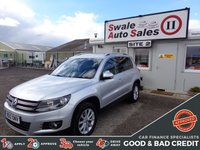 USED 2012 12 VOLKSWAGEN TIGUAN 2.0 SE TDI BLUEMOTION TECHNOLOGY 4MOTION DSG 5 DOOR AUTO 138 BHP GOOD AND BAD CREDIT SPECIALISTS! APPLY TODAY!
