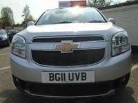 USED 2011 11 CHEVROLET ORLANDO 1.8 LT 5d 141 BHP GUARANTEED TO BEAT ANY 'WE BUY ANY CAR' VALUATION ON YOUR PART EXCHANGE
