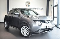 USED 2016 16 NISSAN JUKE 1.2 N-CONNECTA DIG-T 5DR 115 BHP full service history *NO ADMIN FEES* FINISHED IN STUNNING GREY WITH CLOTH UPHOLSTERY + FULL SERVICE HISTORY + SATELLITE NAVIGATION + REAR CAMERA + CRUISE CONTROL + BEAUTIFULLY MAINTAINED + AUTO STOP/START + 17 INCH ALLOY WHEELS
