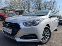 USED 2015 65 HYUNDAI I40 1.7 CRDI SE NAV BUSINESS BLUE DRIVE 5d 139BHP 30ROADTAX+NAV+LEATHER+CLIMATE+