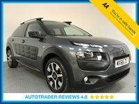 USED 2016 66 CITROEN C4 CACTUS 1.6 BLUEHDI FLAIR EDITION ETG6 S/S 5d AUTO 98 BHP FULL HISTORY - 1 OWNER - EURO 6 - PAN ROOF - SAT NAV - CAMERA - HALF LEATHER - AIR CON - BLUETOOTH