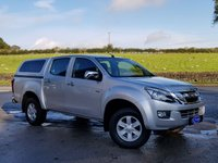 USED 2013 63 ISUZU D-MAX 2.5 TD EIGER DCB 4d 164 BHP ONE OWNER, FULL SERVICE HISTORY, LOW MILEAGE