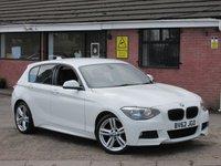 2012 BMW 1 SERIES 116I M SPORT 5dr £8490.00