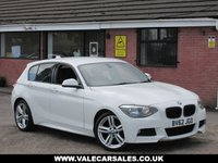 USED 2012 62 BMW 1 SERIES 116I M SPORT 5dr GREAT LOOKING NEW SHAPE BMW 1 SERIES M SPORT