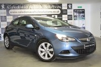 USED 2013 63 VAUXHALL ASTRA 1.6 GTC SPORT 3d 177 BHP ONE FORMER KEEPER with FULL SERVICE HISTORY, 12 MONTHS MOT & LOW MILEAGE