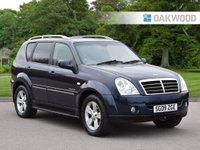 2009 SSANGYONG REXTON 2.7 270 SPR 5d AUTO 184 BHP £5495.00