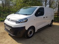 USED 2017 66 CITROEN DISPATCH 1.6 1000 ENTERPRISE HDI 6d 115bhp SAT NAV AIR CON SS TECH MANUFACTURERS WTY NATIONWIDE DELIVERY 3 SEATS 6 DOORS