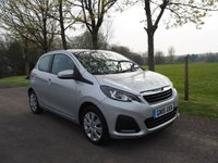 USED 2015 15 PEUGEOT 108 1.0 ACTIVE 3d 68 BHP