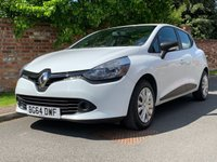USED 2014 64 RENAULT CLIO 1.1 EXPRESSION 16V 5d 75 BHP 2 OWNERS, FULL SERVICE HISTORY, 1YR MOT, EXCELLENT CONDITION, BLUETOOTH, FOGS, RADIO CD, E/WINDOWS, R/LOCKING, FREE WARRANTY, FINANCE AVAILABLE, HPI CLEAR, PART EXCHANGE WELCOME,